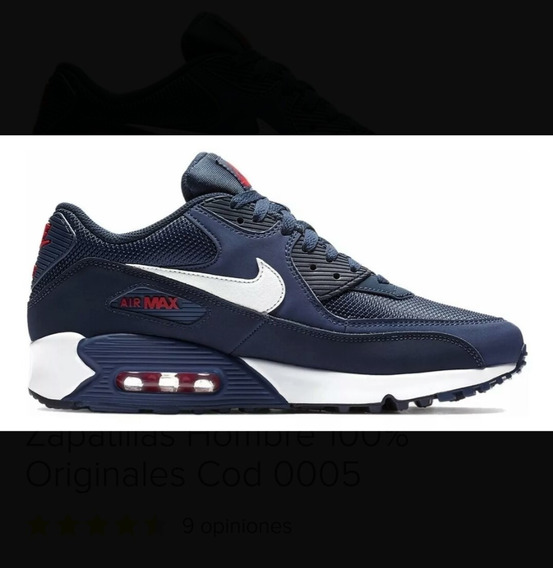 Zapatillas Nike Air Máx 90 Azul Marino
