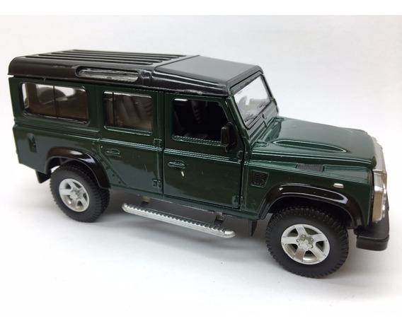 Miniatura Land Rover Defender Verde