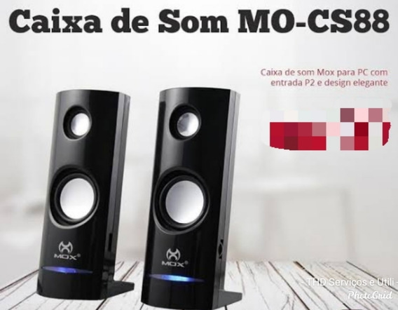 Caixa De Som Pc Speaker Mo-cs88
