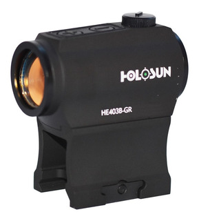 Mira Holográfica Led Verde Holosun He403b-gr