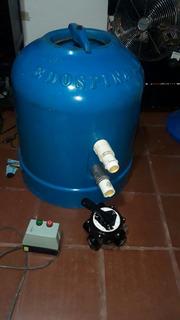 Filtro + Valvula +guarda Motor