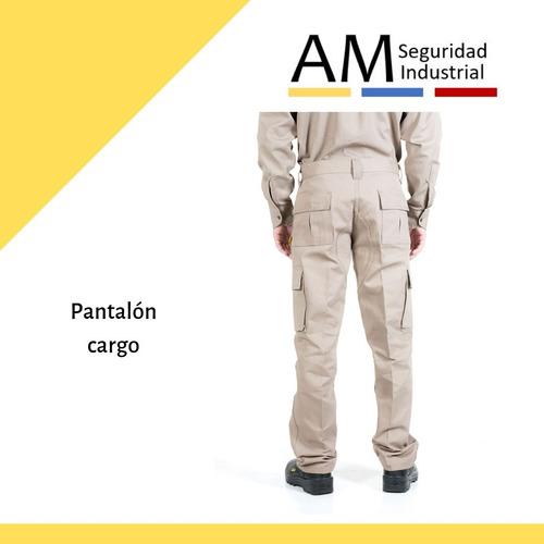 Pantalon Cargo Pampero Trabajo Grafa Alg 100 Talle 56 Al 60 Am Seguridad Industrial