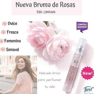 Bruma Corporal De Rosas Just Edicion Limitada Producto Nuevo