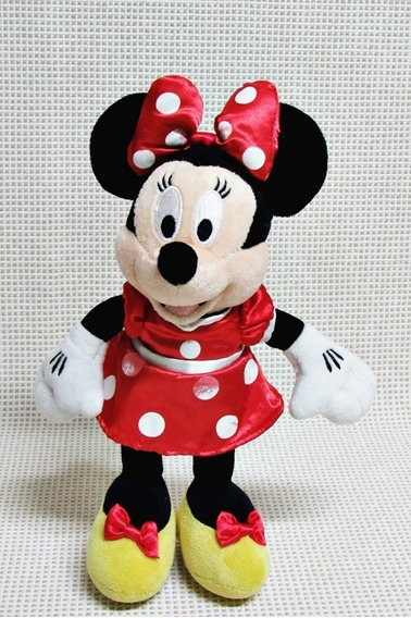 Minnie Boneca Pelucia De Pe Disney 26 Cm Baue
