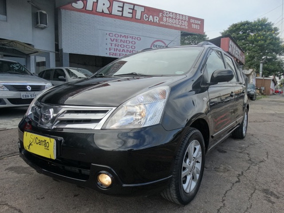 Financiamos 100% Nissan Livina 2012 1.6 Sl Flex 5p