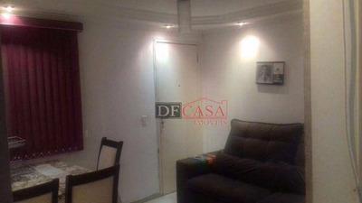Apartamento À Venda Totalmente Mobiliado; Itaim Paulista; São Paulo; 2 Dorm.; 1 Vaga. - Ap3200