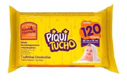 Feelclean Piquitucho Toalhas Umedecidas C/120