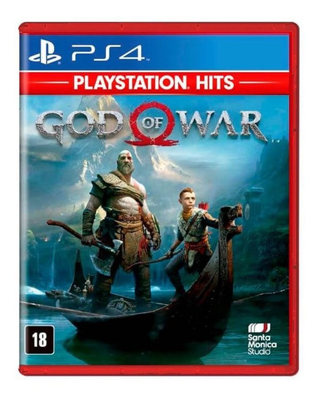 Jogo God Of War Ps4 Hits Mídia Física Português Original