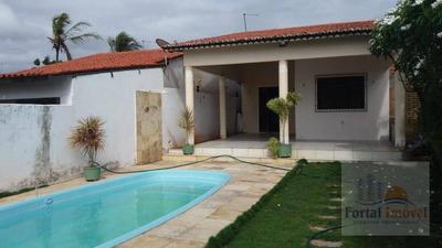 Oportunidade Casa Praia Da Caponga De 70m² Com Piscina, Cascavel. - Ca0119