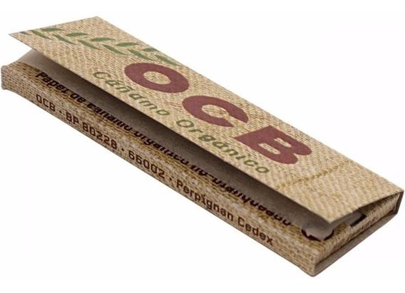 Papel Ocb Cañamo Organico No Blanqueado Caja X 25 Unidades