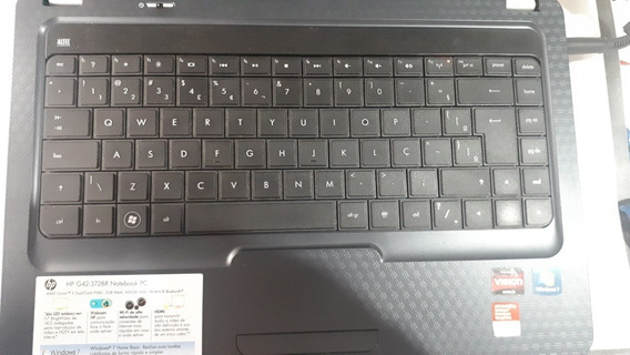 Notebook Hp G42-372br *defeito*