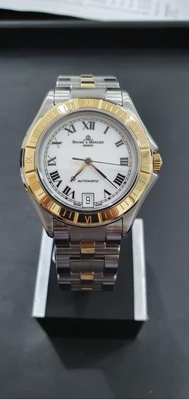 Relógio Suíço Baume Et Mercier Modelo Malibu Automatico