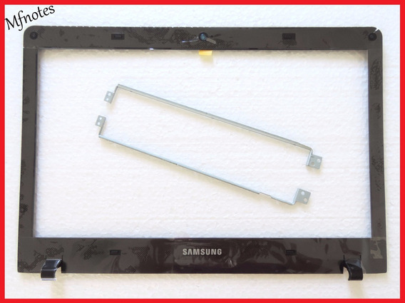 Moldura Preta + Par De Hastes Samsung Np270e4e Np275e4e