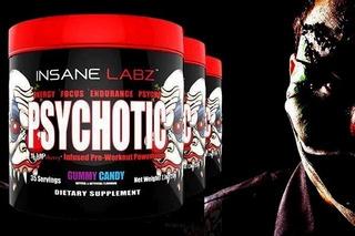 Psychotic (35serv) - Insane Labz - El Mejor Pre Entreno!!!