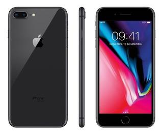 iPhone 8 Plus 64gb Cinza Espacial Vitrine Em 12x S/juros