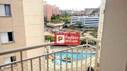 Apartamento Com 2 Dormitórios À Venda, 75 M² Por R$ 530.000 - Jardim Marajoara - São Paulo/sp - Ap28053
