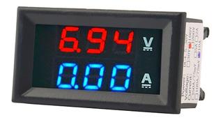 Voltiamperimetro Digital Voltimetro Amperimetro Dc 100v 10a