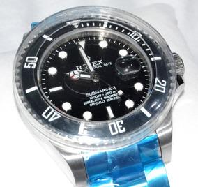 Relogio Modelo Submariner Preto Cerâmica Vidro Safira