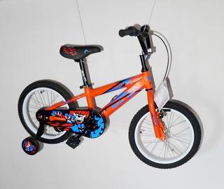 Bicicleta Para Chicos Slp Lion Rodado 12 Con Rueditas