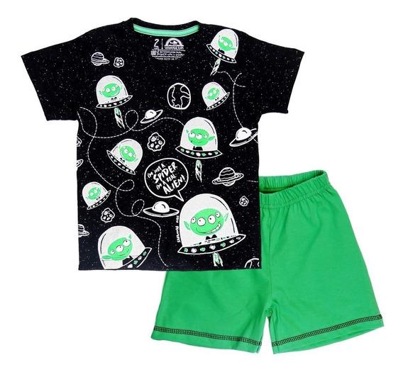 Pijama Infantil Aliens - Savannah Kids