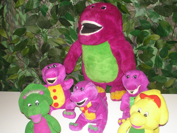 Pelucias Barney E Sua Turma Lote