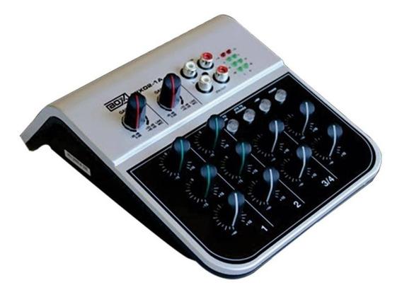 Mesa De Som Boxx 4 Canais Mix02