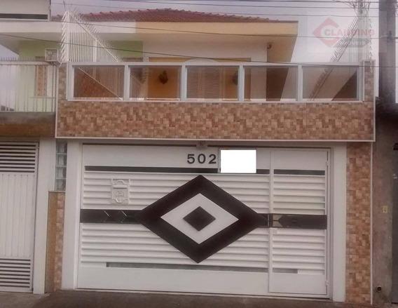 Casa Com 4 Dormitórios À Venda, 325 M² Por R$ 1.100.000 - Vila Matilde - São Paulo/sp - Ca0864