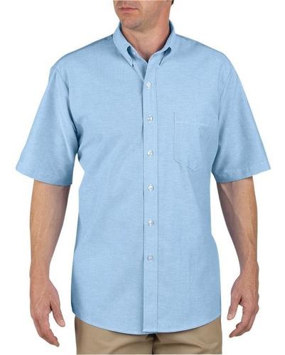 Imagen 1 de 2 de Dickies Ss46 Camisa Corta Oxford Botón Cuello Xxl Y Xxxl