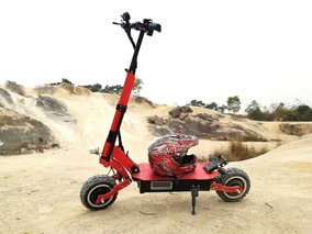 Waterproof 1600w/48v Two Wheel 10in Folding Off Road Electri