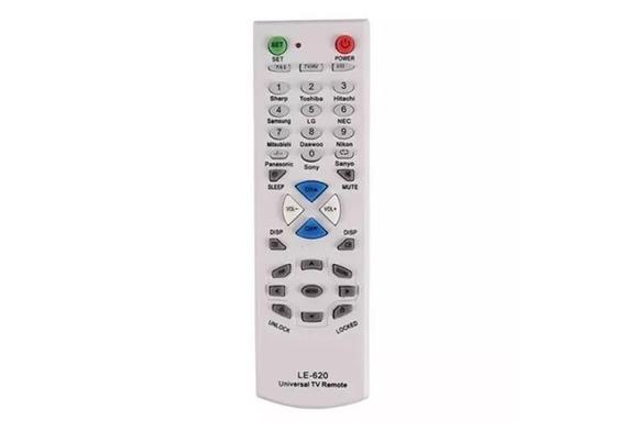 Kit Com 5 Und Controle Remoto Para Tv Universal Le-620