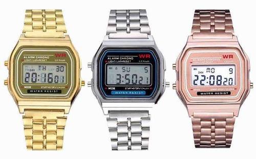 Relógio Vintage Wr Unisex