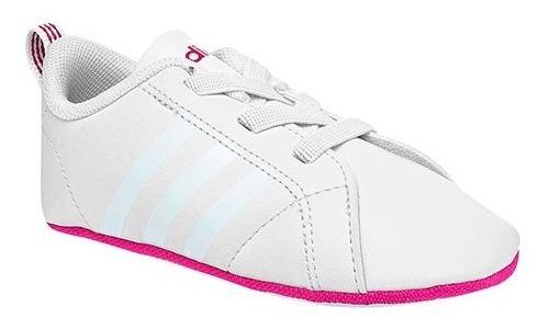 Tenis adidas Vs Advantage Blanco Tallas De #10 A #11 Bebes
