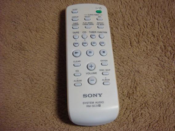 Controle Remoto Original Sony Modelo Rm-sc3