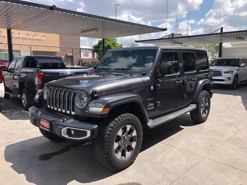 Imagen 1 de 10 de Jeep Wrangler 2019 3.7 Unlimited Sahara 3.6 4x4 At