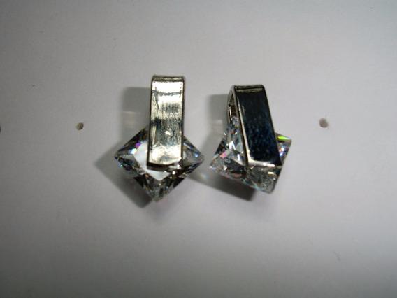 Sensation Brinco Mini Silver Strass
