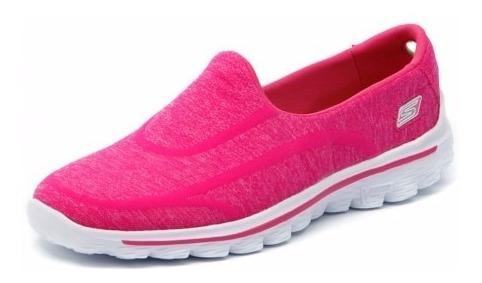 Tênis Skechers Go Walk 2 Rosa O
