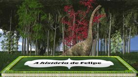 Projeto Proshow Producer Álbum 3d Dinossauros