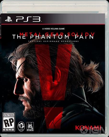 Metal Gear Solid V 5 The Phantom Pain Ps3 Midia Fisica Pt Br