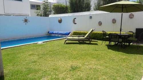 Casa Amueblada En Renta. El Refugio // Rcr190327-sb