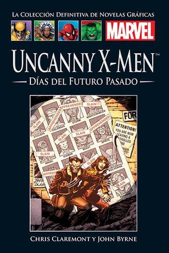 Imagen 1 de 1 de Colección Novelas Gráficas Marvel El Tiempo - X Men Días Del