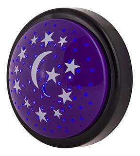 Lampara Proyector Efecto Estrellas Luna Princesas Infantil -
