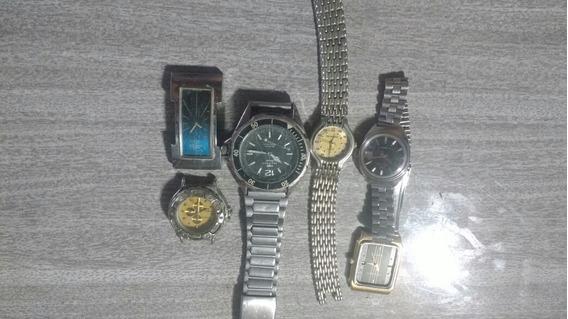 Vendo Lote De Relógio Para Aproveitar As Peças