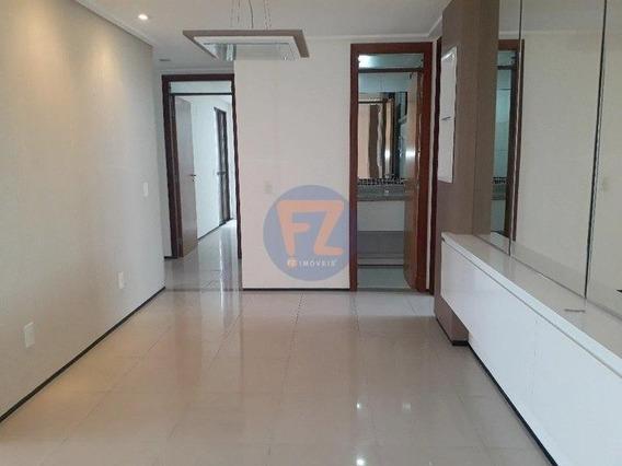 Apartamento Fortaleza Meireles Edf San Carlo 3 Suítes 128m2
