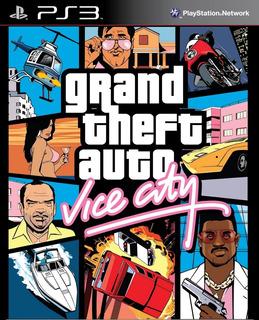 Grand Theft Auto Vice City Gta Ps3