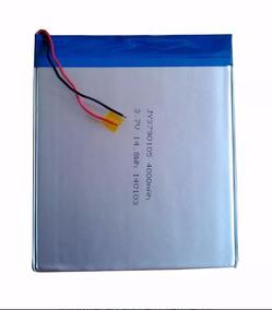 Bateria Para Tablet 8 E 9 Polegadas 4000mah 3.7v (10,5 X 9)