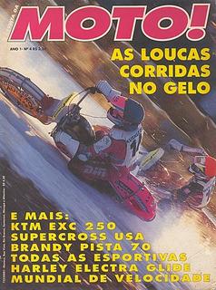 Moto.004 Abr95- Brandy Pista70 Ktm250 Harley Davidso Electra