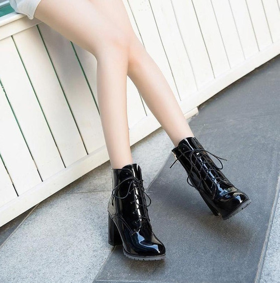 Botas De Charol Nagro-landsyne (liadry Boots)