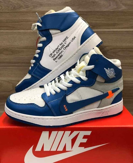Tenis Masculino Air Jordan Off-white