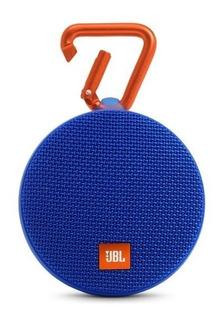 Parlante Jbl Clip 2 Bluetooth Sumergible Original Azul
