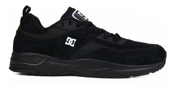 Tênis Masculino Dc Shoes E. Tribeka Black/black Original
